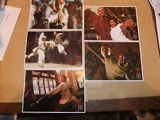 JET LI ONCE UPON A TIME IN CHINA SET OF 5 DVD POSTCARDS TAUI HARK HONG KONG