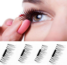 3D Magnetic False Eyelashes No Glue Handmade Natural Extension Eye Lashes Makeup