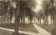 Shenandoah IA Park c1910 Real Photo Postcard rpx