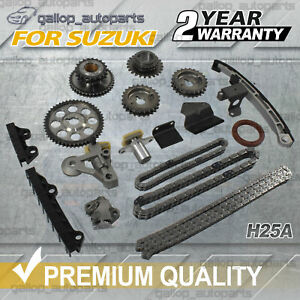 Fits Suzuki V6 2.5L Timing Chain Kit Grand Vitara Chevrolet Tracker TOP QUALITY