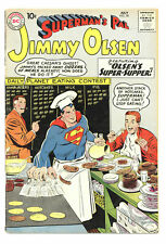 SUPERMAN'S PAL JIMMY OLSEN #38 4.0 CURT SWAN ART OW PGS 1959