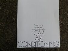HOLDEN HQ ''AIR CONDITIONING'' SALES BROCHURE 100% GUARANTEE.
