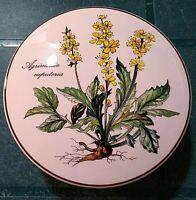 Villeroy & Boch Botanica Agrimonia Eupatoria round ceramic trinket box