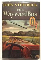 The Wayward Bus - John Steinbeck First Edition 1st Printing 1947 HC Dust Jacket