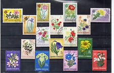 Rumania Flores Valores del año 1961-70 (CR-857)