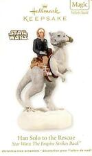 Star Wars Han Solo to the Rescue Hallmark Magic Keepsake Ornament~Sound~NIB~2012