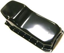 1986-2002 Chevy Black Oil Pan w/  Rear Main Seal 4 Qt Stock Capacity SBC 305 350