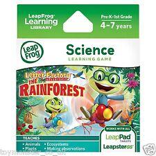 LeapFrog LeapPad / Leapster Explorer Game Rainforest