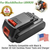 For Black & Decker LBX20 LBXR20-OPE 3.0AH 20V Max LITHIUM Ion Battery LBX20 LB20