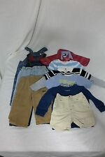 Boys 12 - 18 month clothes lot Toddler Summer Fall Gap Gymboree LL Bean Hilfiger