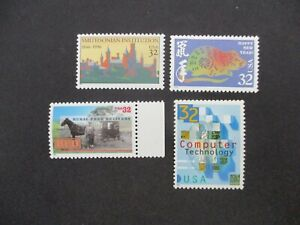 World Stamps: USA - Set/Single - Great Item, Must Have! (N23101)