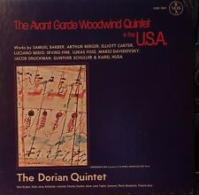 The Avant Garde Woodwind Quintet in the USA.  Box 3Vinyl LPs