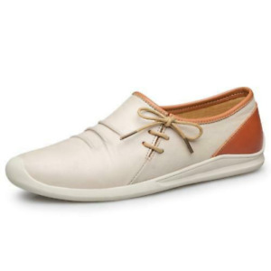 Men New Round Toe Slip On Breathable Leisure Faux Leather Loafers Driving Shoes