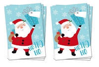 6 x LARGE FATHER CHRISTMAS SANTA SACKS STOCKING BAG GIFT PRESENTS XMAS TOY TREE
