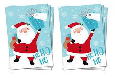 6 x LARGE FATHER CHRISTMAS SANTA SACKS STOCKING BAG GIFT PRESENTS XMAS TOY TREE