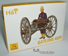 HaT 8179 Gatling Gun. 1/72 scale. 24 Figures & 4 Guns
