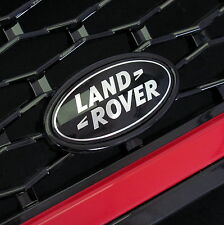 Range Rover SPORT BLACK+SILVER front grille badge upgrade supercharged land logo