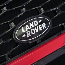 Range Rover SPORT BLACK+SILVER front grille badge upgrade supercharged land logo