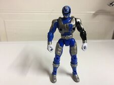 Power Rangers SPD  Battlized Blue Power Ranger 2 Action Figure 2005 Bandai 6""