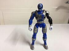 """Power Rangers SPD Battlized Azul Power Ranger 2 acción figura 2005 Bandai 6"""""""