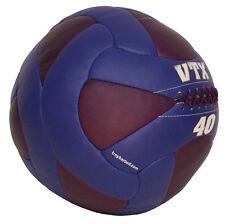 Troy VTX 40 lb Leather Wall Ball - Medicine Ball - Crossfit - NEW!