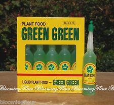 8 Bottles of Liquid Lucky Bamboo Plant Food Green Green Fertilizer 36ml Bottle