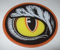 BAD CATS By WILLIAMS ORIGINAL NOS PINBALL MACHINE PLASTIC PROMO COASTER LEFT EYE