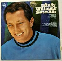 Andy Williams' Newest Hits Columbia Records LP PROMO 1966 CL 2383 Mono 360 Sound