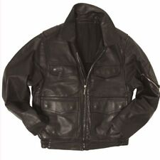European police surplus leather jacket (POLIZEI)