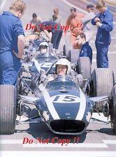 Ludovico Scarfiotti Cooper T86B Spanish Grand Prix 1968 Photograph 1