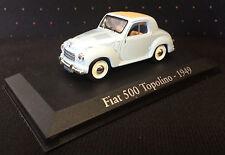 FIAT 500 TOPOLINO 1949 - 1:43 - COLLECTIBLE DIE CAST CAR - NOREV