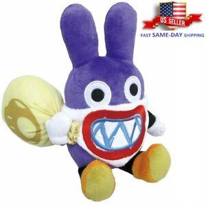 "Super Mario Bros Nabbit Rabbit Thief Plush Toy Stuffed Animal Plush Gift Doll 9"""