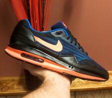 Nike Air Max Lunar 1 Jacquard◾Black/Bright Mango◾2014◾Size 13◾654467-002◾A STEAL