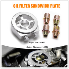 Oil Cooler Filter sandwich plate Adapter AN10 M20x1.5 Fit For Honda Ford Toyota