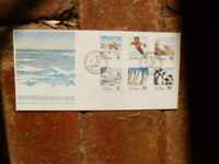 1990 ROSS DEPENDENCY NEW ZEALAND FIRST DAY COVER SET OF 6 STAMPS  SEA BIRDS
