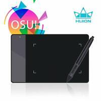 HUION 420 Art Digital Graphics Drawing Tablet Battery Pen 2048 Pressure 4×2.23''