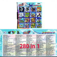 Hot 280 in 1 Combination Games Cartridge For NINTENDO 2DS/NDS/DSLITE/DSi/3DS/Xl