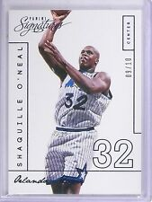 2013-14 Panini Signatures Blue Shaquille O'Neal #D09/10 #203  *61469