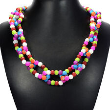 Rainbow Candy Shell Necklace Women Handcrafted Bespoke Jewellery Tantric Tokyo