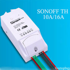 TH10A Temperature Humidity Monitoring WiFi Switch Remote For Sonoff G11