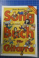 Peter Bursch's Song Buch für Gitarre Voggenreiter mit CD H-300