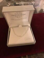 Swarovski Retail $ 22.00 Fine Silver Plated Chain