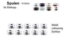 Spulen für DÜRKOPP Industriemaschine, Metall Schlitz, 10St