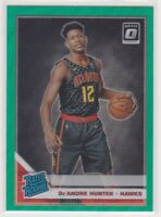 2019-20 De'Andre Hunter Optic Green Wave Prizm Bask. Rookie Card #198 Fanatics