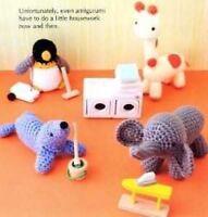 Vanna's Easy Crochet Critters Amigurumi Animals Lion Patterns Monkey Owl Toys