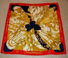 Carré foulard HERMES Soleil de soie - Cathy Latham *