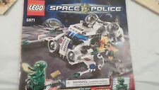Lego 5971 Space Police Gold Heist with Booklet Manual