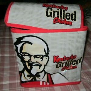 Collectible Kentucky Grilled Chicken Cooler Bag Insulated