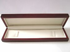 Affordable Luxury Wood Gloss BROWN Watch Bracelet Jewellery Gift Box-BHW7/P