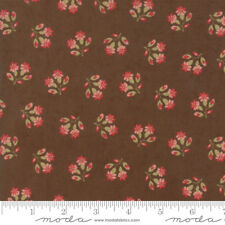 Moda Compassion Chocolate Floral100% cotton Fabric Patchwork Quilting & Craft